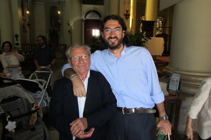 Don Matteo Volpato saluta la comunità di San Donà di Piave