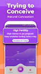 screenshot of Ovulation Tracker by Premom: Easily Get Pregnant