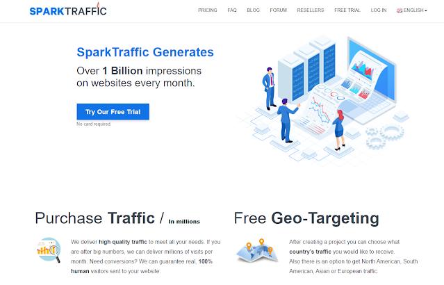 Site gerador de trafego pago para sites
