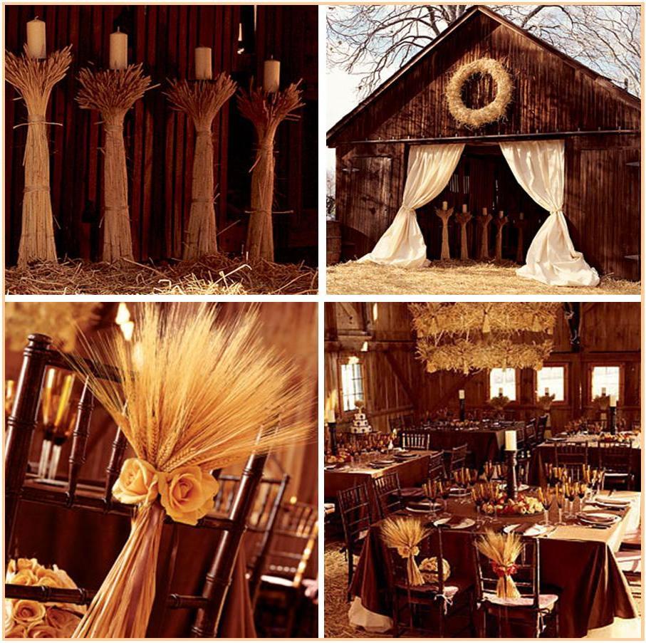 Unique Wedding Themes: Gonul's Blog: Cheap Fall Wedding Centerpiece