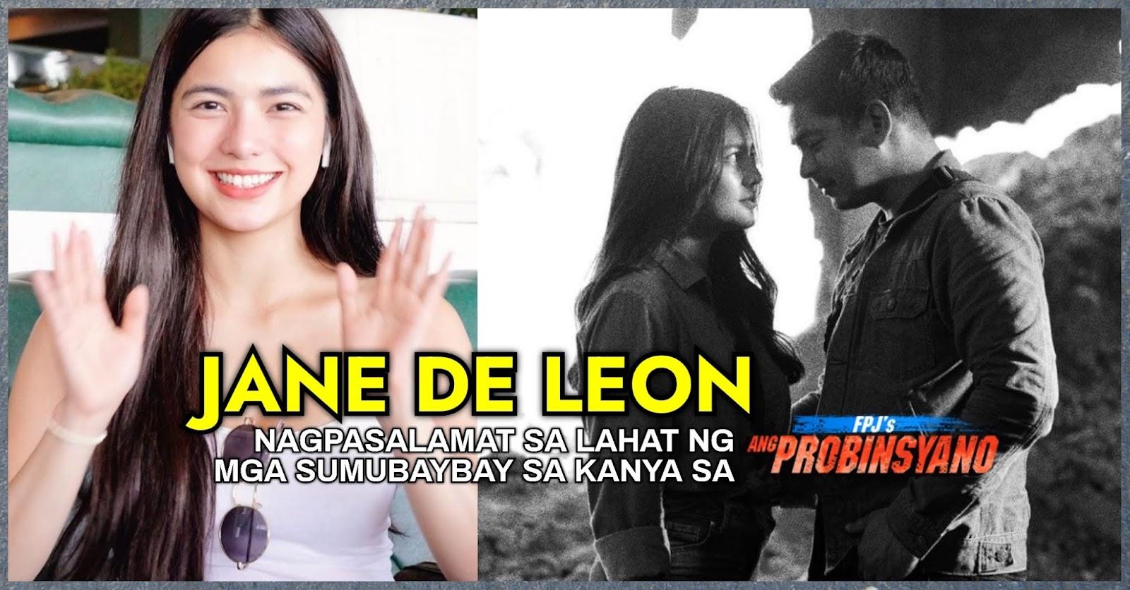 """""""BYE, LIA"""" Jane De Leon, nagpasalamat sa lahat ng sumubaybay sa kanya sa """"FPJ's Ang Probinsyano"""""""