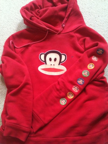 Monkey jumper, Paul Frank