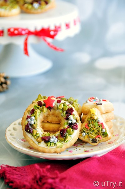 Utry It How To Make Christmas Wreath And Christmas Tree Shortbread