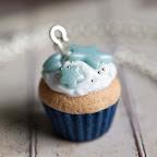 Winter Blue Cupcake