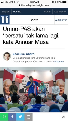 Image result for Gambar Pas dan umno bekerjasama