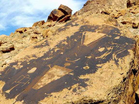 Petroglyphs at the Price/Green confluence