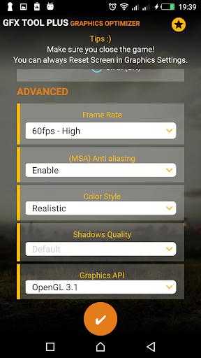 PUB GFX Tool Plus for PUBG - NOBAN 60FPS 2.0.7 screenshots 2