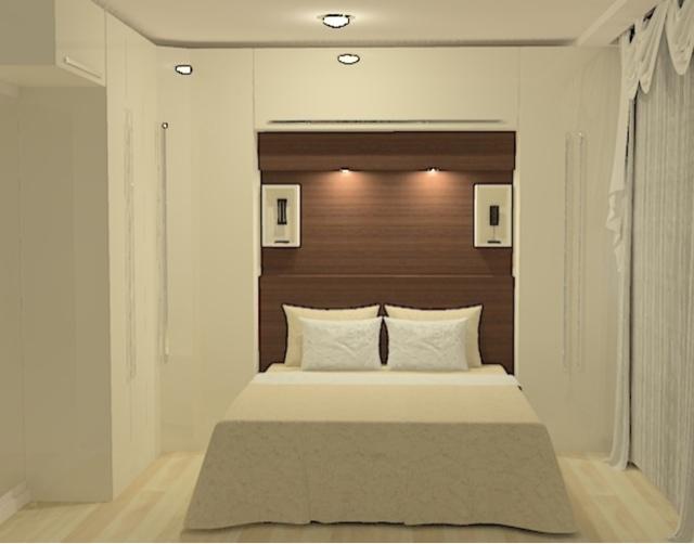 Adesivo De Parede Quarto ~ Blog Estilo& Décor Armário modulado para quarto pequeno
