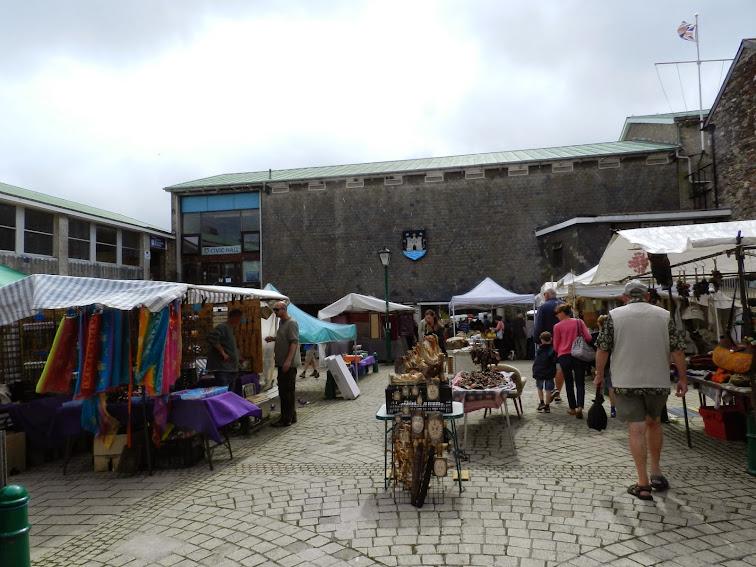 Totnes Market England