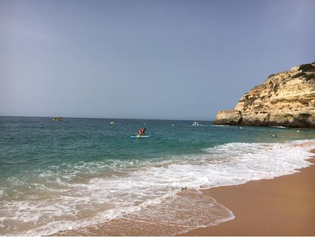 paddle plage praia benagil