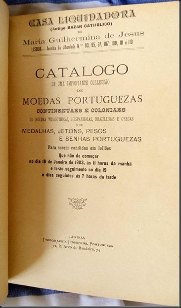 1903 Catálogo