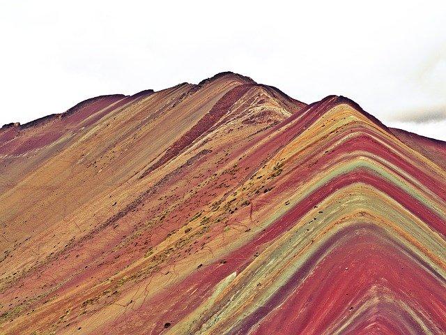 peru cusco rainbow mountain