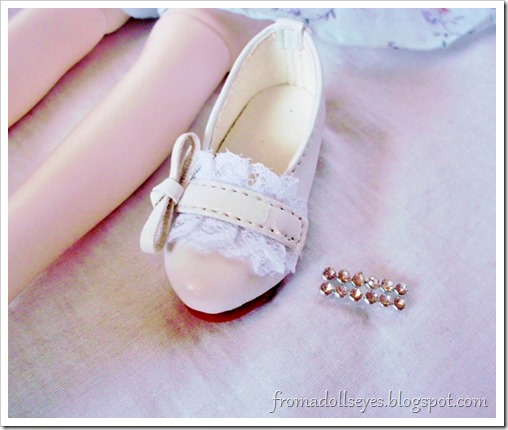 Bjd shoe haul for Alice's Collections.  SH339 msd shoes in white.