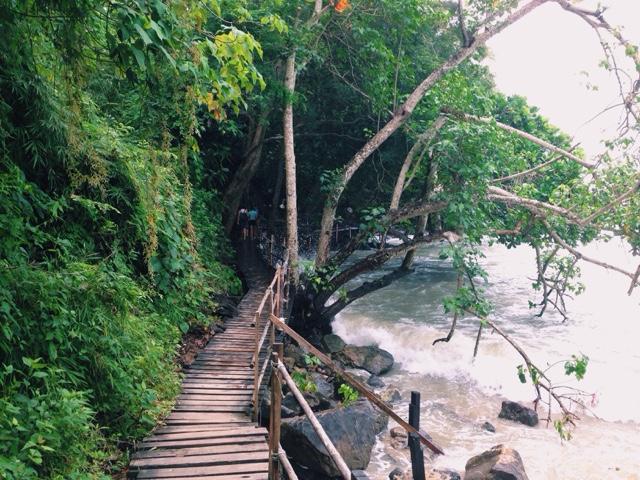 Walkway to Centara