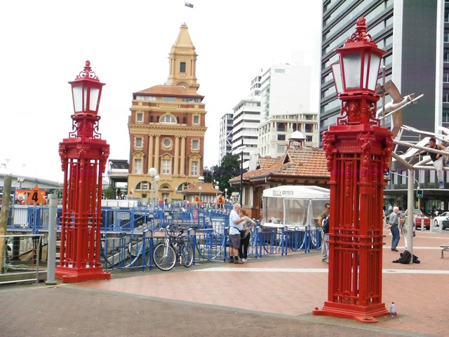 Auckland Water Front Epicenter.
