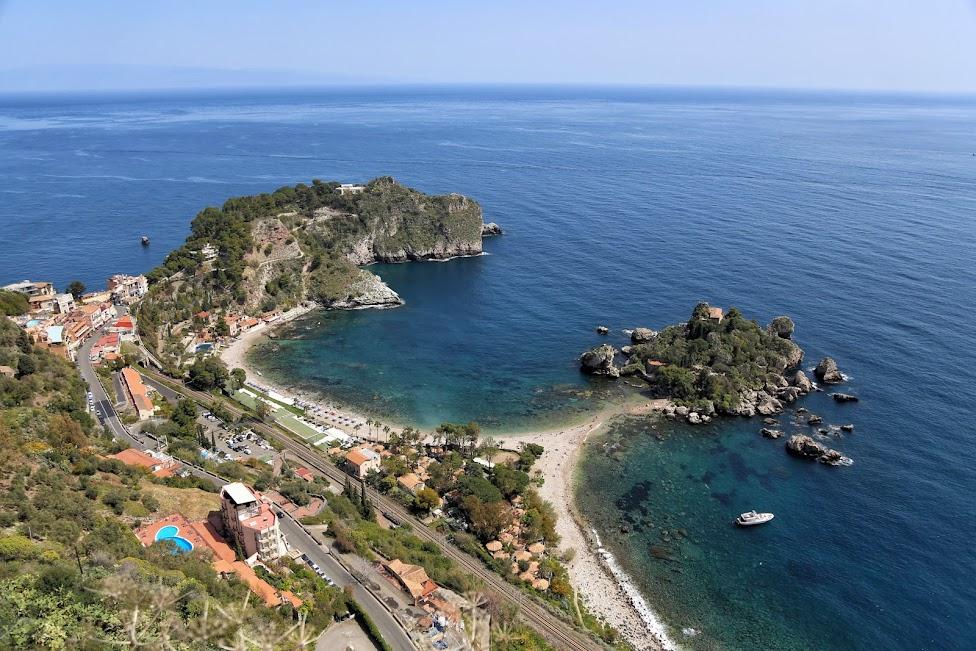 Taormina, Punkt widokowy przy Via Pirandello