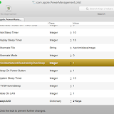 com.apple.PowerManagement.plist の値を1にする
