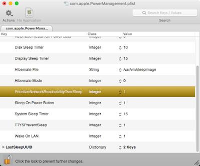 com.apple.PowerManagement.plistの値を1にする