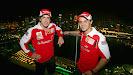 Ferrari drivers Fernando Alonso & Felipe Massa