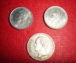 Lote de tres monedas antiguas