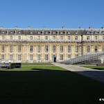 Château de Vincennes : pavillon de la Reine, façade est