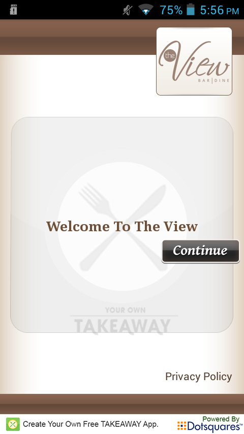 The View Takeaway- screenshot