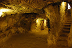 Underground city, once home to 10,000 Christians hiding from Persian and Arab invaders.
