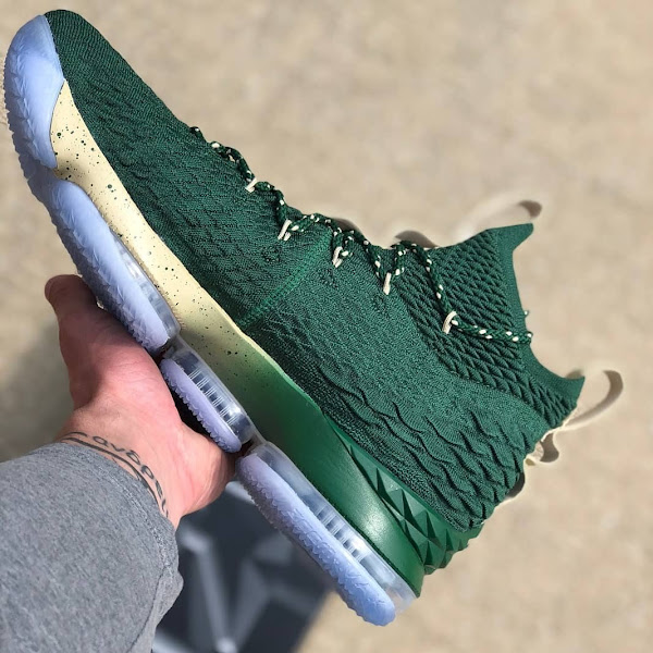 First Look at Nike LeBron XV SVSM Home and Away PEs