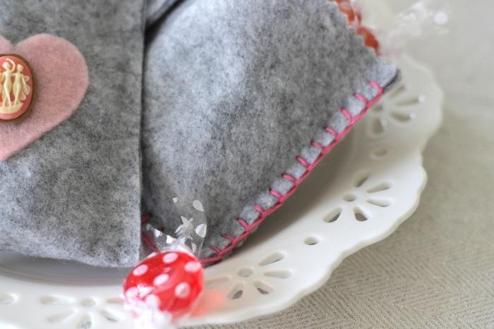 Grey Felt Valentine's Day Treat Bags by homework - carolynshomework (4)