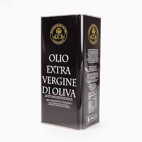 """""""Roi"""" Extra Virgin Olive Oil, 5 litre tin."""