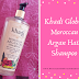 Review //  Khadi Global Moroccan Argan Hair Shampoo Rosemary Tea Tree Geranium & Peppermint Essential Oil Infused For Healthy Hair & Scalp