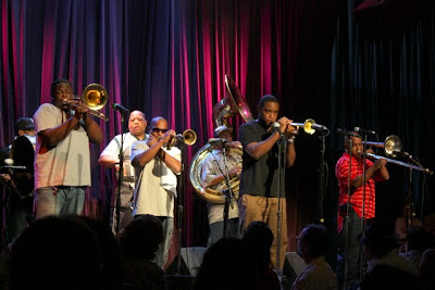 Rebirth Brass Band playing at Jazz Alley in Seattle Washington