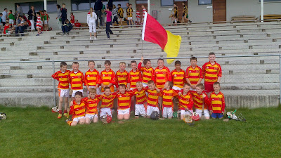 Newcestown Under 10 Squad at the hurling blitz in Clonakilty on 8 September 2012