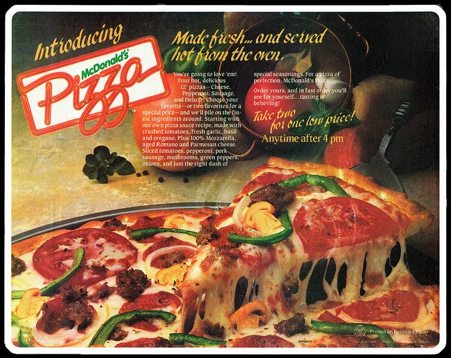Millenials: Be glad! McPizza is still available