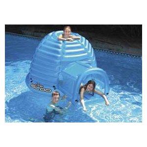 Swimline The Igloo Floating Habitat Pool Float Toys