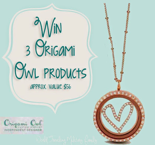 Origami Owl Giveaway World Traveling Military Family