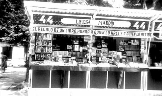 Un paseo por la Historia de la Feria del Libro de Madrid