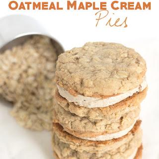 Oatmeal Maple Cream Pies.