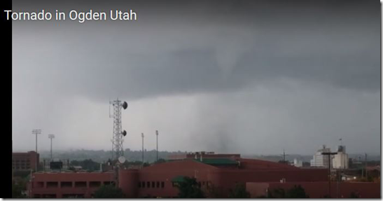 Tornado near Ogden