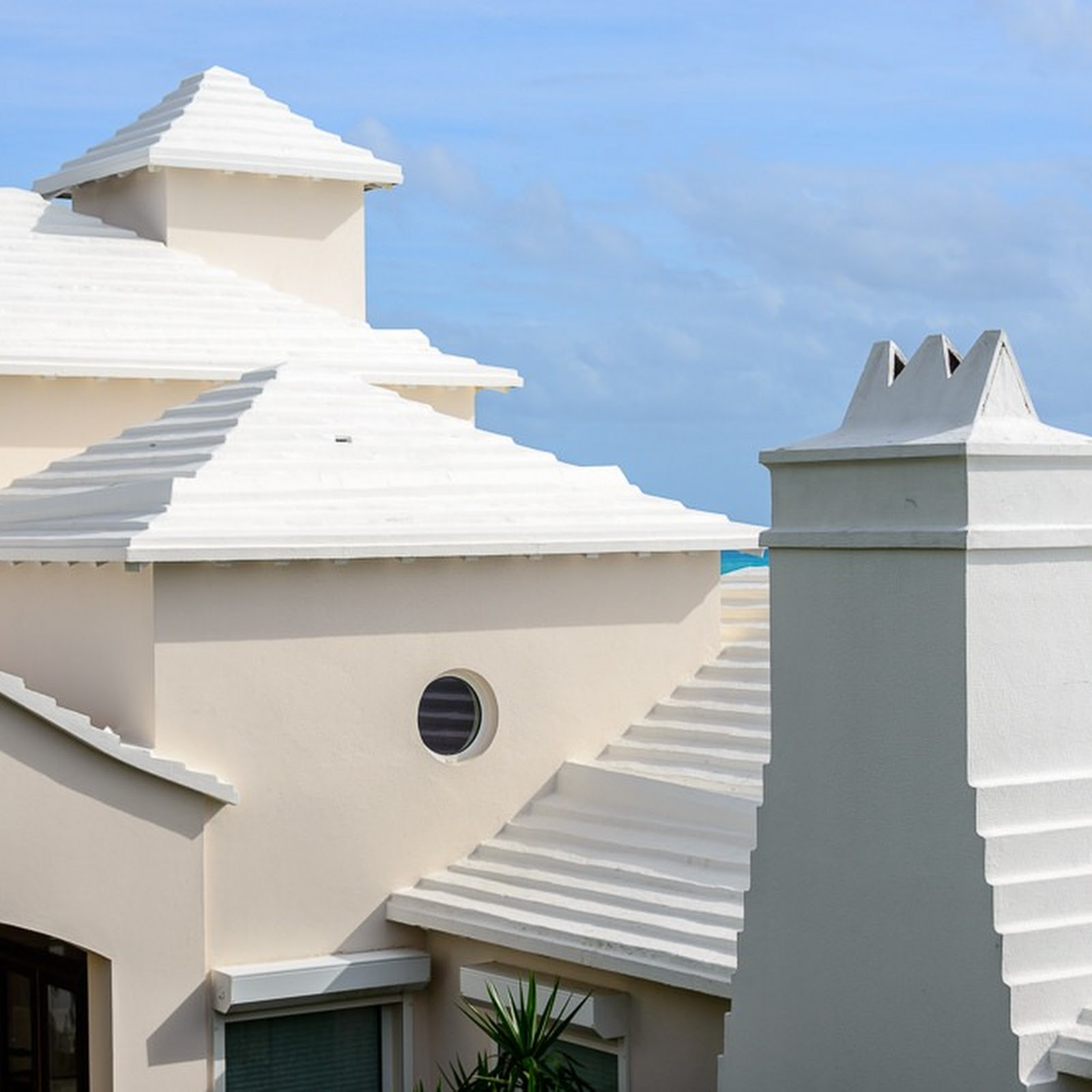 How Bermuda's Chronic Water Shortage Shaped The Islands' Iconic White Roof