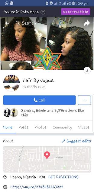 [Scam Alert] Hair By Vogue Is a Facebook Scammer