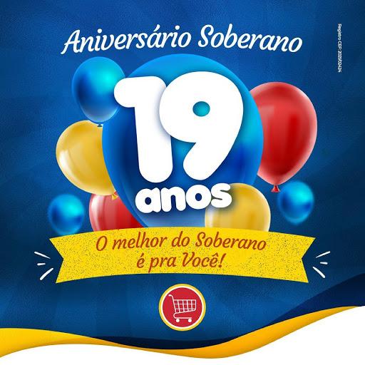 Mês de aniversário do Soberano, quem ganha o presente é você!