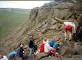 BRMC club trip. Dark Peak 1996 ish Dovestones ?