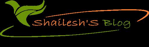 Shailesh' Blog
