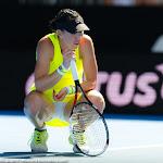 Jelena Jankovic in action at the 2016 Australian Open