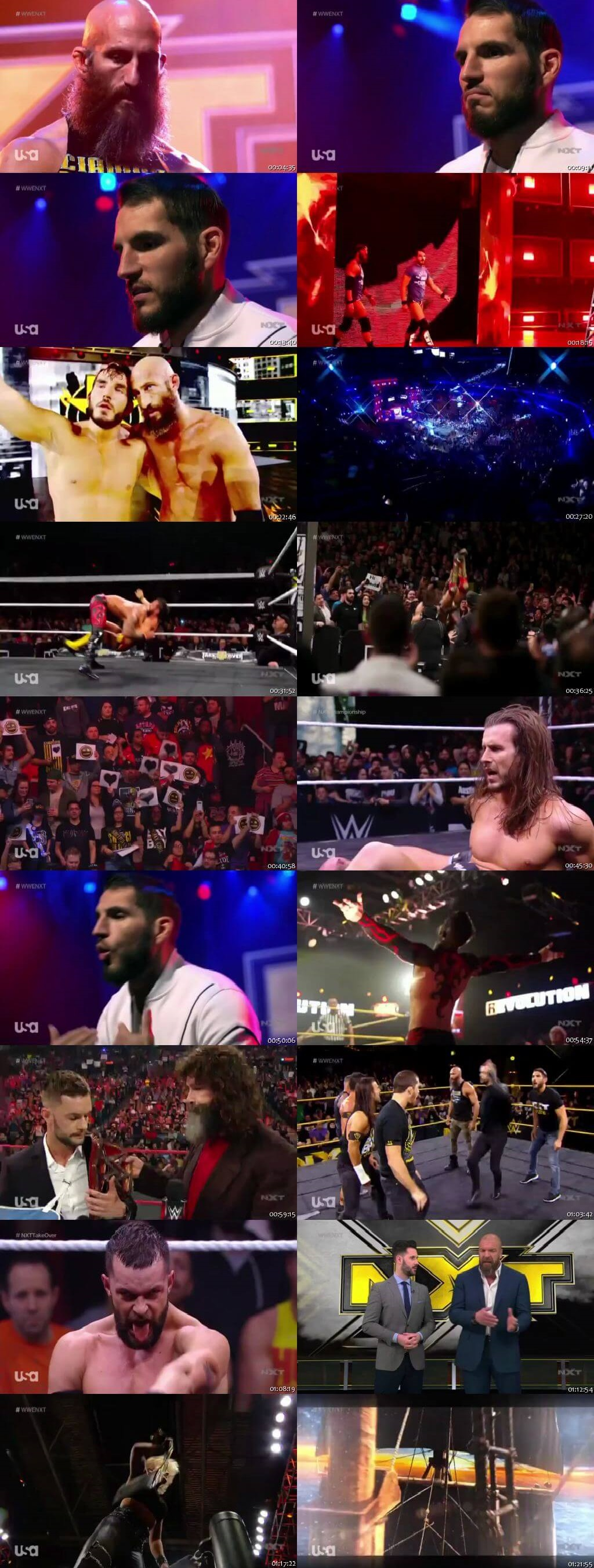 Screen Shot Of WWE NXT 18th March 2020 HDTV 480P 300MB
