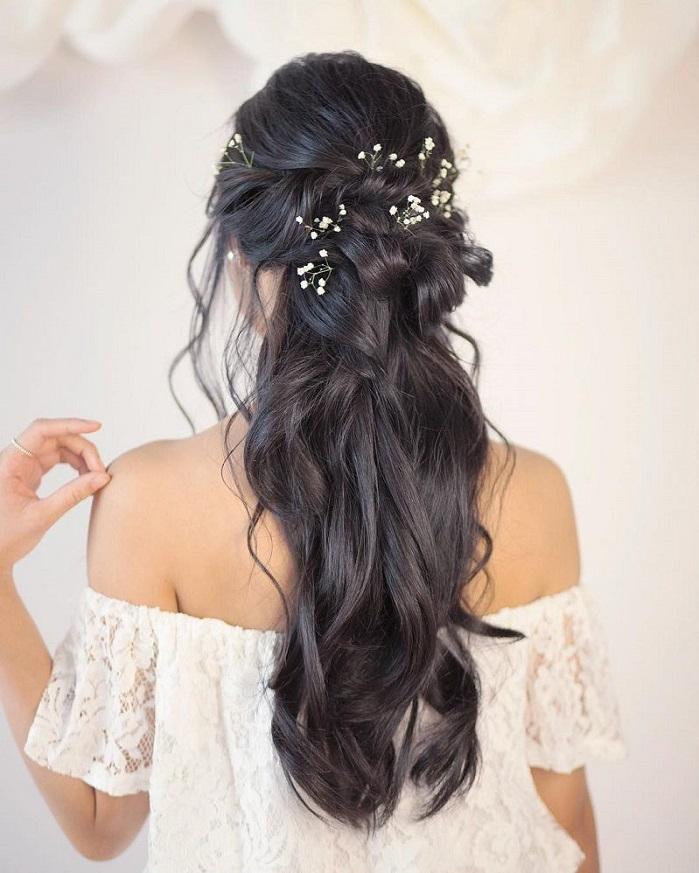 Half Up Half Down Hairstyles For Woman In 2018 7