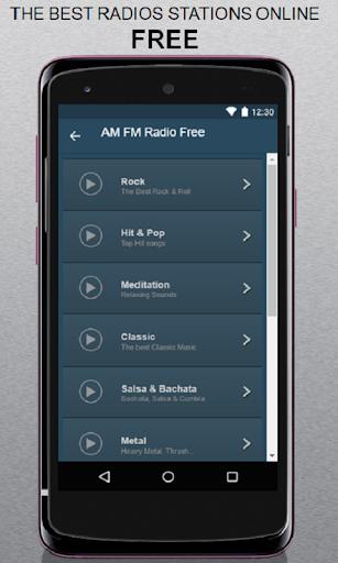 AM FM Radio Free screenshots 1