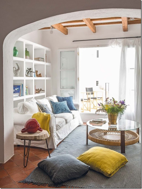 Ispirazioni mediterranee per la casa al mare case e interni - Arredamento per casa al mare ...