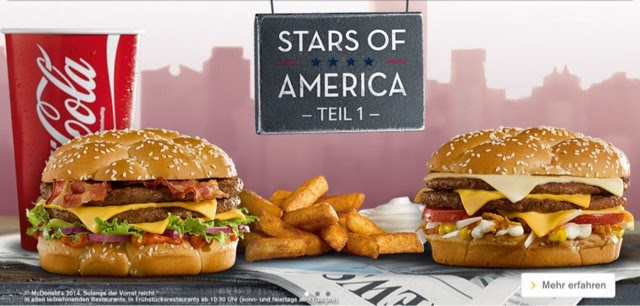 McDonald's Germany Stars of America